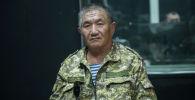 Полковник в отставке, председатель Союза десантников КР Табылды Окошев