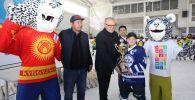 Борбор калаада хоккей боюнча биринчи ирет Ак илбирстин кубогу мелдеши өттү