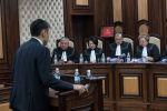 Рассмотрение иска представителей и депутатов СДПК о конституционности лишения Атамбаева статуса экс-президента в Конституционной палате Кыргызстана