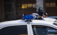 Гарнизонный развод-инструктаж столичной милиции на площади Ала-Тоо