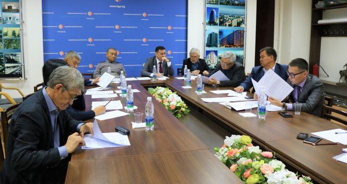Заседание жюри конкурса по регенерации ипподрома Ак-Кула