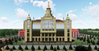 Министерство образования и науки Кыргызстана представило эскизы здания филиала Московского государственного университета имени М. В. Ломоносова в Оше