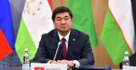 Премьер-министр КР Мухаммедакалый Абылгазиев на заседании Совета глав правительств СНГ в Москве