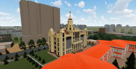Министерство образования и науки КР представило 3D-видеоэскизы будущего здания филиала Московского государственного университета имени М. В. Ломоносова.