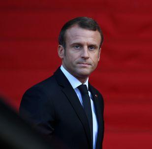 Франциянын президенти Эммануэль Макрон. Архивдик сүрөт