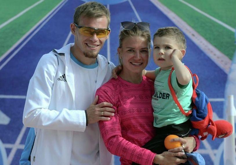 Кыргызстанские легкоатлеты Илья Тяпкин и Мария Коробицкая