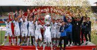 Команда из города Кочкор-Ата (Джалал-Абадская область) Нефтчи впервые завоевала Кубок Кыргызстана по футболу