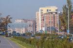 Автомобильное движение на улице Масалиева (Южная магистраль) Бишкека