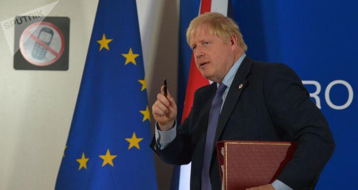 Премьер-министр Великобритании Борис Джонсон. Архивное фото