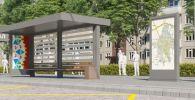 Бишкектеги Токтогул көчөсүнө жети аялдама орнотулуп, ижарага берилерин мэриянын маалымат кызматы билдирди