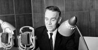 Диктор Московского радио Николай Павлович Дубравин. Архивное фото