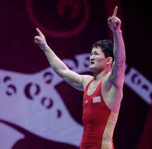 Бронзовый призер вольного стиля чемпионата Азии Улукбек Жолдошбеков
