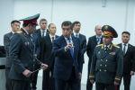 Бүгүн, 31-октябрда, президент Сооронбай Жээнбековго санариптешкен тайпалык борборду көрсөтүштү.