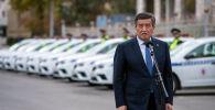 Президент Сооронбай Жээнбеков на презентации Патрульной службы милиции