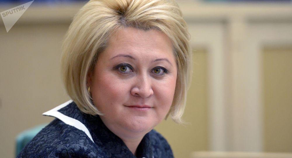Архивное фото председателя Комитета Совета Федерации по науке, образованию и культуре Лилии Гумеровой