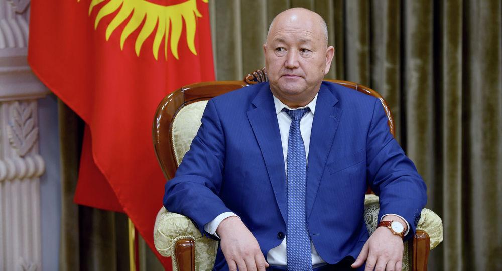 Вице-премьер-министр Кыргызской Республики Жениш Разаков. Архивное фото