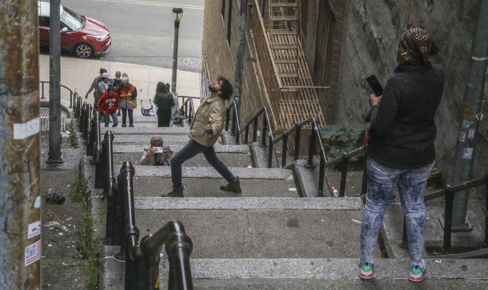 Лестница Джокера привлекает множество туристов после выхода фильма