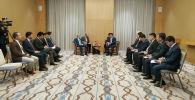Премьер-министр Мухаммедкалый Абылгазиев встретился с главным исполнительным лицом Исламской Республики Афганистан Абдулла Абдулла в Ташкенте