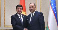 Премьер-министр Кыргызской Республики Мухаммедкалый Абылгазиев встретился с премьер-министром Узбекистана Абдулла Ариповым в Ташкенте