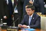 Премьер-министр Кыргызской Республики Мухаммедкалый Абылгазиев принимает участие в очередном заседании Совета глав правительств государств-членов Шанхайской организации сотрудничества в Ташкенте