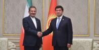 Премьер-министр Кыргызской Республики Мухаммедкалый Абылгазиев и первый вице-президент Исламской Республики Иран Эсхак Джахангири обсудили актуальные вопросы двустороннего сотрудничества