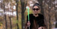 26-летняя Нуржамал Орозакуновой, несколько лет назад полностью потеряла зрение