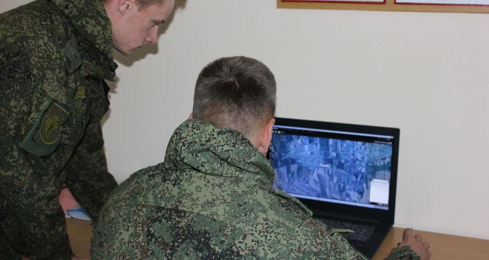 Военнослужащие авиабазы ОДКБ Кант захватили вражеские беспилотные летательные аппараты в ходе учений
