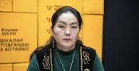 Одна из основательниц движения Элдик көзөмөл (Народный контроль) Сабида Сартова. Архивное фото