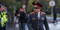 Бишкек шаардык милициясынын башчысы Канат Жумагазиев. Архив