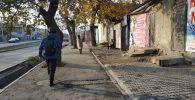 Улица Кулиева около Ошского рынка. Архивное фото