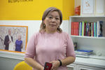 Республикалык жугуштуу оорулар клиникалык ооруканасынын дарыгери Нургүл Молдалиева