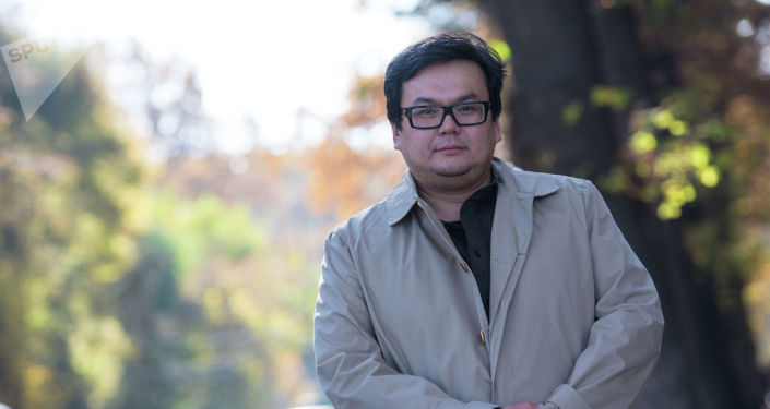 Директор Общественного фонда Турдакуна Усубалиева, внук политического деятеля Эсен Усубалиев