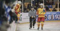 Кыргызстандын хоккей боюнча улуттук курама командасынын оюнчусу. Архив