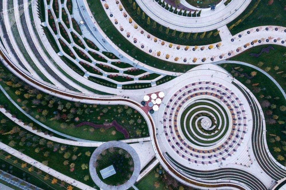 Парк Галицкого в Краснодаре, награжденный международной премией Urban Parks Awards за вклад в развитие общественных пространств.