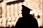 Военнослужащий на репетиции военного парада. Архивное фото