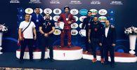 Кыргызстанские спортсмены завоевали 17 медалей, в том числе восемь золотых, на Чемпионате мира по грэпплингу