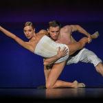 Артисты балета в фрагменте спектакля Эквус в юбилейной программе, приуроченной к 30-летию театра Балет Москва в Гоголь-центре.