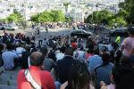 Обзорная площадка на холме Монмартр в Париже. Архивное фото