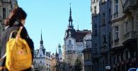 Одна из улиц в Праге. Архивное фото