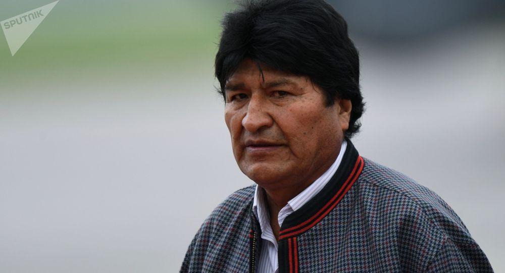 Боливиянын отставкага кеткен президенти Эво Моралес. Архив