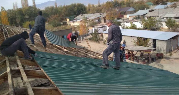 В колонии-поселении № 2 в Токтогульском районе сделали капитальный ремонт