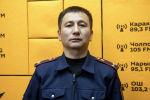 Жол кыймылы коопсуздугун камсыздоо башкармалыгынын кадрлар бөлүмүнүн тескөөчүсү Улан Чекиров