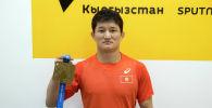 Кыргызстандынк балбан Улукбек Жолдошбеков