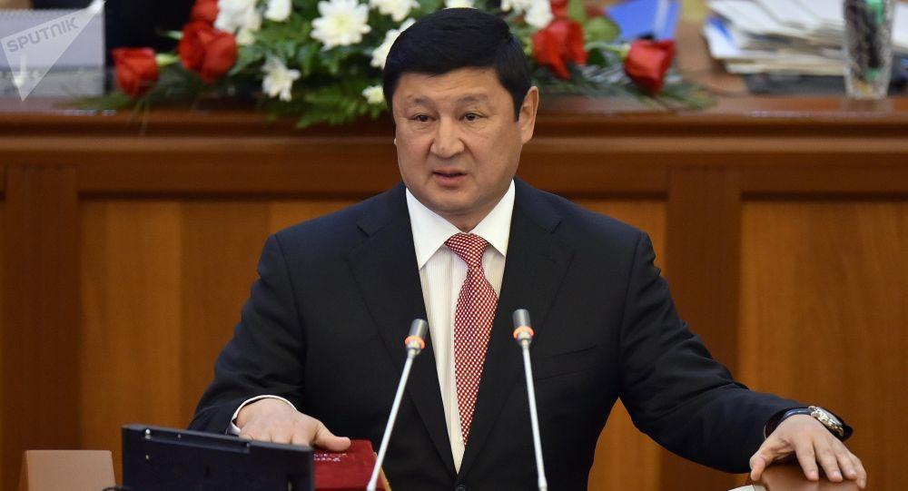 Депутат ЖК 6 созыва Тынчтыкбек Конушбаев от партии Кыргызстан. Архивное фото
