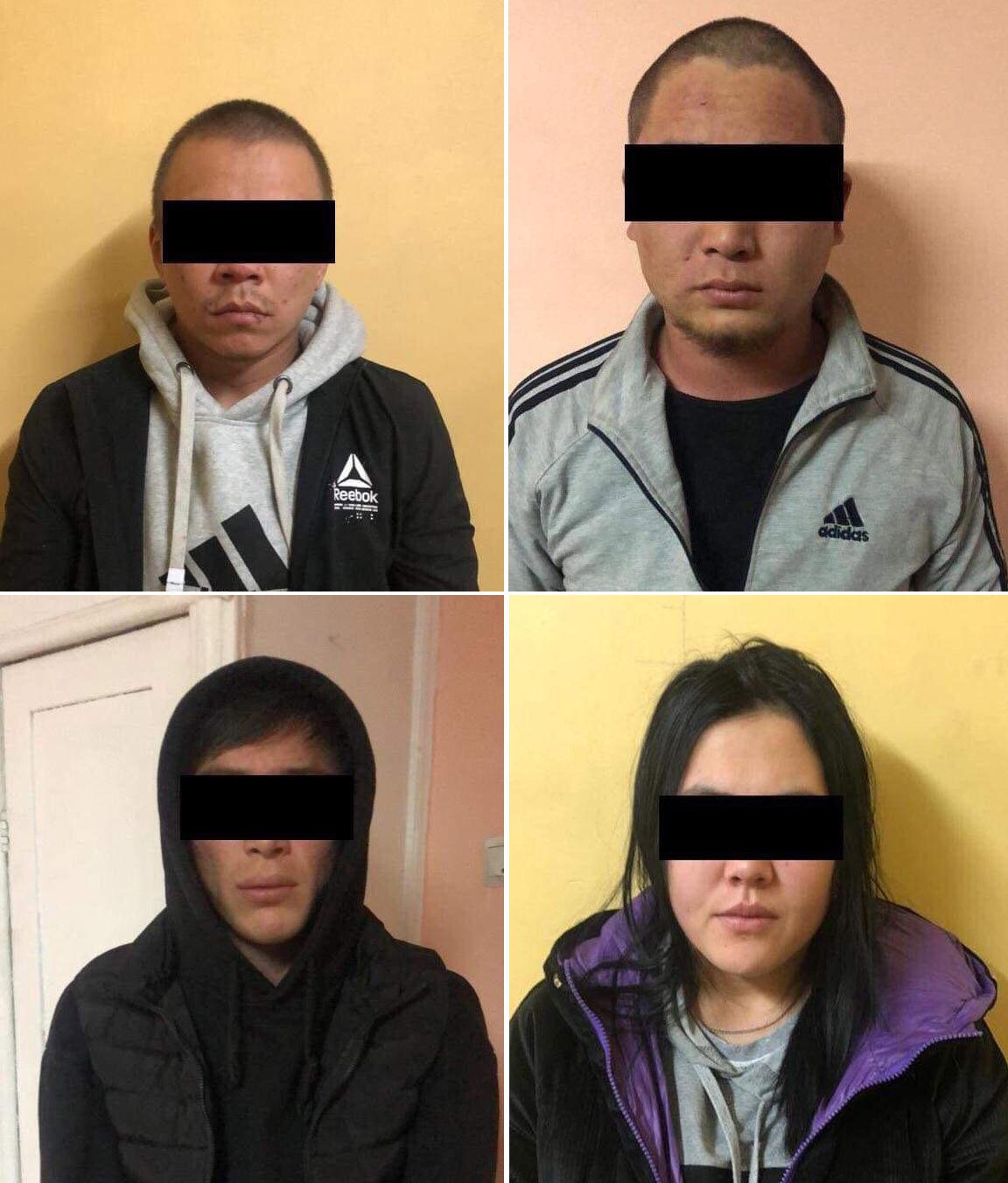 Подозреваемые в грабеже магазина в пятом микрорайоне в Бишкеке