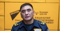 ӨКМдин Бишкек шаары боюнча башкармалыгынын башчысы Адилбек Чаргынов
