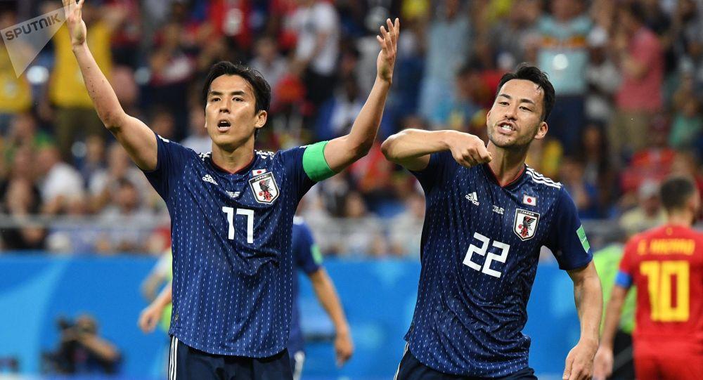 Япония курама команданын футболчулары. Архивдик сүрөт