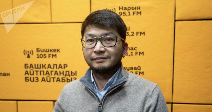 Начальник управления проектной деятельности государственного предприятия Инфоком при ГРС Чынгыз Султанов.