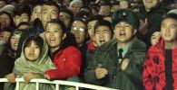 В Бишкеке состоялся футбольный матч Кыргызстан — Япония. Игра в рамках группового этапа отборочного раунда чемпионата мира 2022 года прошла на стадионе имени Долона Омурзакова.