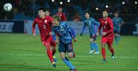 Во время матча между сборными Кыргызстана и Японии в Бишкеке. Архивное фото